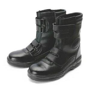 G-best(警備用品)【S102】半長靴(反射付)マジック式