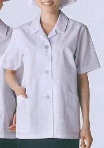 調理衣 白衣 半袖 レディース女性用 厨房業務用