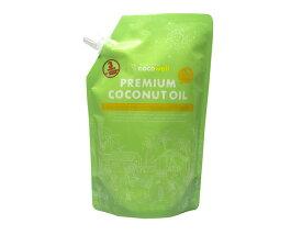 【口栓付】プレミアムココナッツオイル 460g(500ml)【食用・加熱調理向け】【ココウェル】