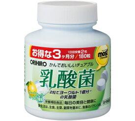 オリヒロ MOSTチュアブル乳酸菌 180粒