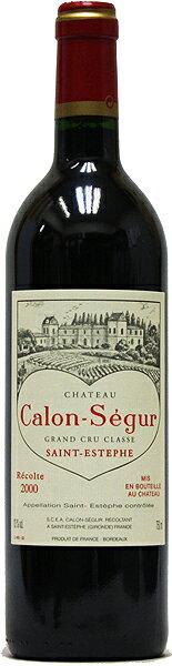 シャトー・カロン・セギュール[2000](赤ワイン)[750ml][フランス][ボルドー][サン・テステフ][第3級][フルボディ][辛口]