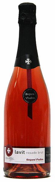 【セグラ・ヴューダス】ラヴィット・ロサード[NV](スパークリングワイン・ロゼ)750ml スペイン カヴァ SEGURA VIUDAS LAVIT ROSADO BRUT