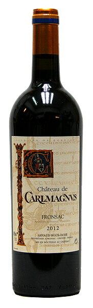 シャトー・ド・カルルマニュス[2015](赤ワイン)[750ml][フルボトル][フランス][ボルドー][フロンサック][フルボディ][辛口]