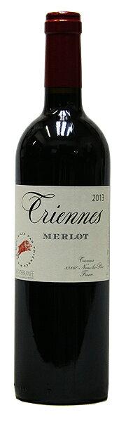 【トリエンヌ】メルロー[2013](赤ワイン)[750ml][フランス][プロヴァンス][ミディアムボディ][辛口][ヴィレーヌ][ジャック・セイス]