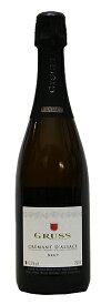 [ かわばた酒店20周年記念特価 ]【グリュス】クレマン・ダルザス・エクストラ・ブリュット[NV](スパークリングワイン)[数量限定][750ml][フランス][アルザス][辛口]