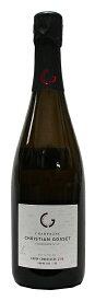 【クリスチャン・ゴセ】クロワ・クルセル・ブラン・ド・ピノ・ノワール[2016](スパークリングワイン)[750ml][フランス][シャンパーニュ][シャンパン][辛口]