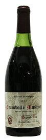 【デュパール・エイネ(モワラール)】シャンボール・ミュジニー[1947](赤ワイン)[古酒][750ml][フランス][ブルゴーニュ][村名格][ミディアムボディ][辛口]