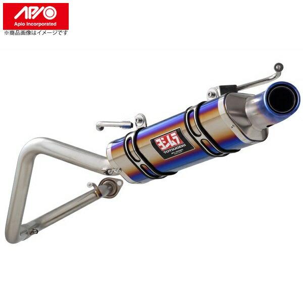 APIO 【アピオ】アピオヨシムラマフラーR-77Jチタンサイクロン(ファイアースペック)スズキジムニーJB23 全型対応純正バンパー用カーボン製取付ガーニッシュセット