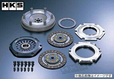 HKS LAクラッチツイン マークII・チェイサー・クレスタ JZX90 JZX100 1JZ-GTE 92/10-01/07 マークII・ヴェロッサ JZX110 1JZ-GTE 00/10-04/11LAクラッチTWIN 「ツインプレート」