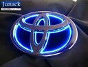 Junack 【ジュナック】 LED Trans Emblem 「LEDトランスエンブレム」 カラー:ブルーハイエース ナローボディー 200系 …