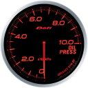 デフィ(Defi) アドバンスBFメーター60φアンバーレッドモデル 油圧計