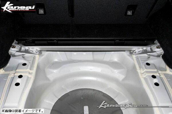 Kansaiサービス 【関西サービス】リアタワーバー スチールオーバルシャフトSUBARU LEVORG レヴォーグ VMG 14/06-VM4(1.6Lエンジン搭載車)取付可能