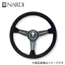 ナルディ(NARDI) クラッシックブラックスエード&ブラックスポーク
