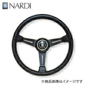 ナルディ(NARDI) クラッシックブラックレザー&ブラックスポーク