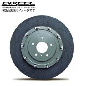 ディクセル【DIXCEL】 2ピース ブレーキローターR35 GT-R MY11 (390mm)FS[12本 CURVE SLIT]タイプ 「フロント」GT-R NISMOおよびハブボルトM14換装車は使用できません