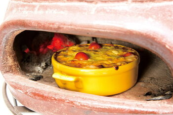 メキシコ製ピザ窯チムニーMCH060武田コーポレーション(ピザ釜自家用石窯ライフ屋外用暖炉・ストーブ)