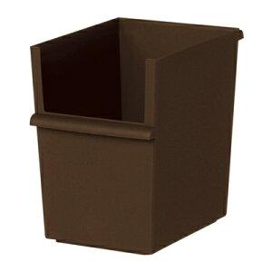 吉川国工業所 JT-04 コンテナースリム 深 ブラウン JUST-IT カラーボックス 収納ボックス インナーボックス 収納ケース[ 5500円以上 送料無料 ]