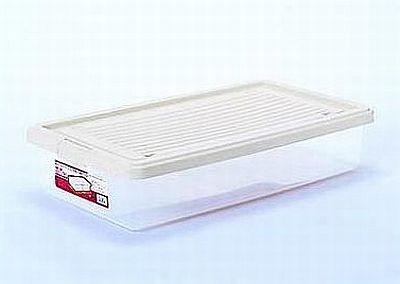 サンコー PC ホームケース浅型 NO.7415 SBE 収納ケース 衣装ケース 収納ボックス すき間 ベット下収納 衣替え特集