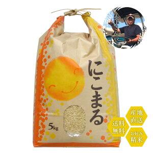 米 和歌山県産 赤津直基さんのにこまる 10kg 白米から分づきまで美しくおいしい精米 送料無料
