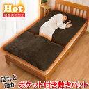 【送料無料】あったかグッズ 寝具 ふわふわ 敷きパッド 冷え性 起毛 シングル 発熱 吸湿発熱 発熱 敷パッド 冷えとり …