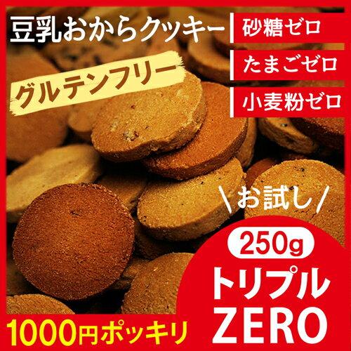 グルテンフリーの豆乳おからクッキー お試し 250g