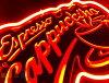 供Espresso cappuccino浓缩咖啡卡布奇诺3D霓虹灯招牌室内装饰收集霓虹灯信号广告店铺使用的NEON SIGN美国的杂货招牌氖管