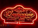 Budweiser バドワイザー 特大 3D ネオン看板 インテリア コレクション ネオンサイン 広告 店舗用 NEON SIGN アメリカン雑貨 看板