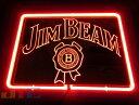 JIM BEAM ジム・ビーム BAR 特大 3D ネオン看板 インテリア コレクション ネオンサイン 広告 店舗用 NEON SIGN アメリ…
