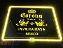 CORONA コロナ BAR 黄色管 特大 3D ネオン看板 インテリア コレクション ネオンサイン 広告 店舗用 NEON SIGN アメリ…