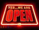 YES WE ARE OPEN オープン 特大 3D ネオン看板 インテリア コレクション ネオンサイン 広告 店舗用 NEON SIGN アメリ…