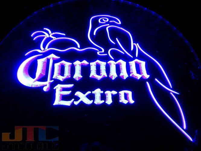 特大LED3D 35cm特大サイズ コロナ エキストラ CORONA EXTRA ネオン看板 ネオンサイン 広告 店舗用 NEON SIGN アメリカン雑貨 看板 ネオン管