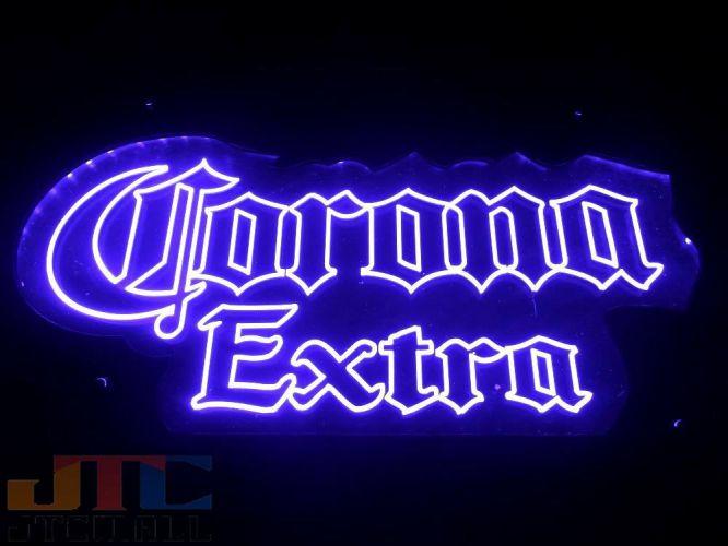 Corona Extra コロナ エキストラ LED 3D ネオン看板 ネオンサイン 広告 店舗用 NEON SIGN アメリカン雑貨 看板 ネオン管