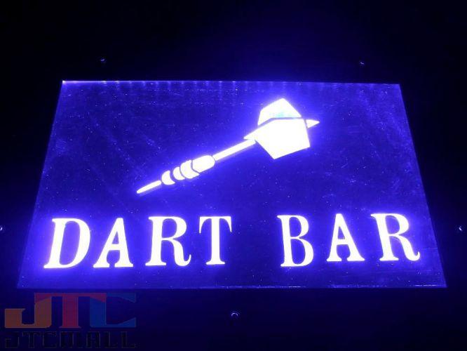 DART BAR ダーツ LED 3D ネオン看板 ネオンサイン 広告 店舗用 NEON SIGN アメリカン雑貨 看板 ネオン管