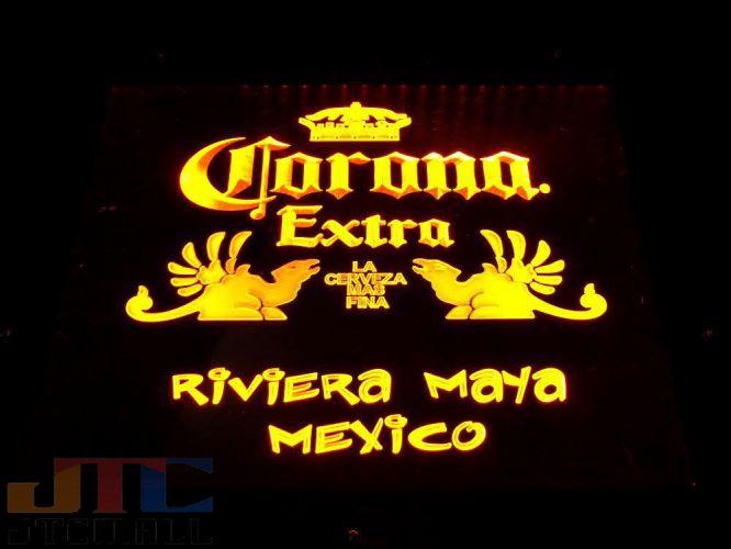 Corona Extra コロナエキストラ メキシコ LED 3D ネオン看板 ネオンサイン 広告 店舗用 NEON SIGN アメリカン雑貨 看板 ネオン管