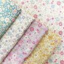 ダブルガーゼ 生地 ラブリーフラワー 花柄Wガーゼ 綿100% 布 手芸 生地 花 小花 はな 赤ちゃん スタイ マスク マスクゴム 小花柄