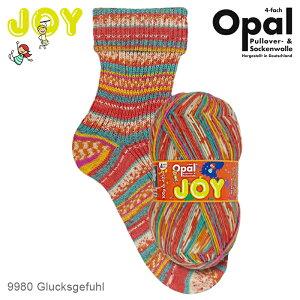 Opal Joy(ジョイ) 4ply 9980 靴下用毛糸 2021春コレクション 春 秋 冬 編み物 あみもの てあみ かぎ針 棒針 ニット 手編み 編み物 手芸 ハンドメイド 手作り