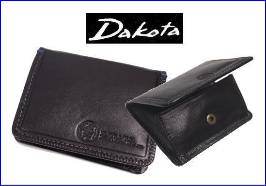 Dakotaダコタ アントニオボックス型コインケースカードポケット付き