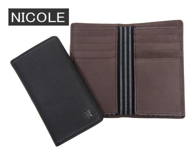 NICOLEニコル・メンディ2二つ折りカードケース