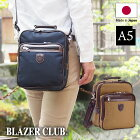 日本製豊岡製鞄ショルダーバッグ帆布コートメンズA5縦型21cm