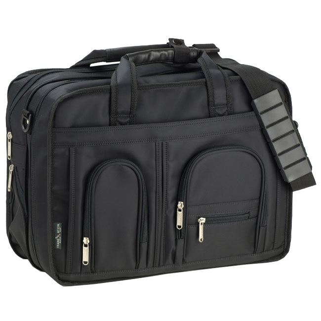 ブリーフケース メンズ ビジネスバック PC対応バッグ付き カジュアル 容量が増えるマチダブル ポケットたくさん ブレザークラブ BLAZER CLUB #26413 ポイント7倍