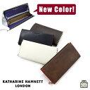 ラウンドファスナー長財布/キャサリンハムネット KATHARINE HAMNETT 長財布[490-51908] 長財布 メンズ/長財布 レディース/長財布 メン…