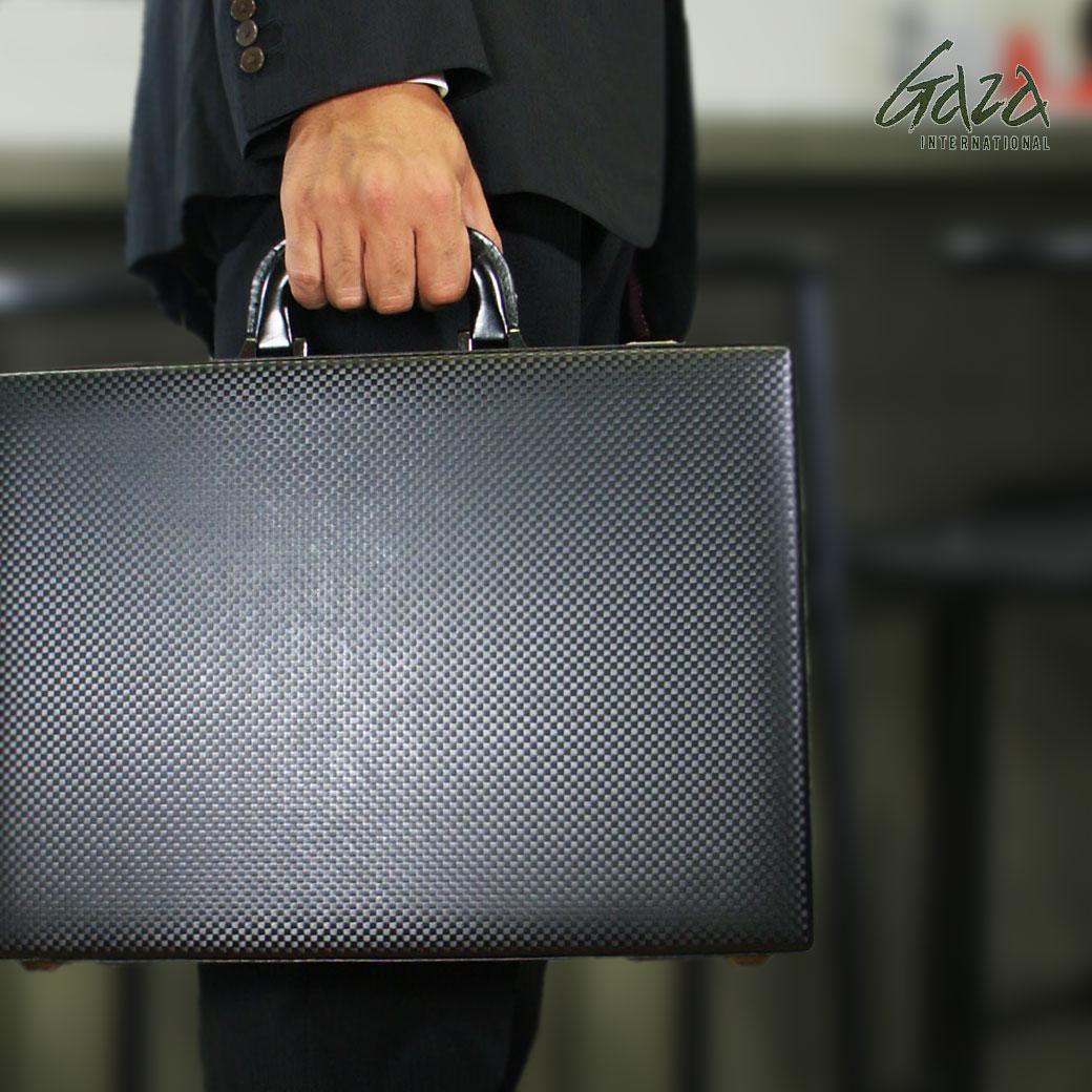 アタッシュケース メンズ ビジネスバッグ GAZA ガザ ATTACHECASE アタッシュ 合成皮革 アタッシュケース A4 横型 日本製 バッグ メンズバッグ ブランド プレゼント ランキング ギフト 青木鞄