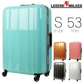 【全商品クーポン配布中】 スーツケース メンズ キャリーケース Legend Walker レジェンドウォーカー HARD CASE ハードケース キャリーバッグ 旅行 出張 ポリカーボネート TSAロック 4輪 メンズバッグ 送料無料 men's