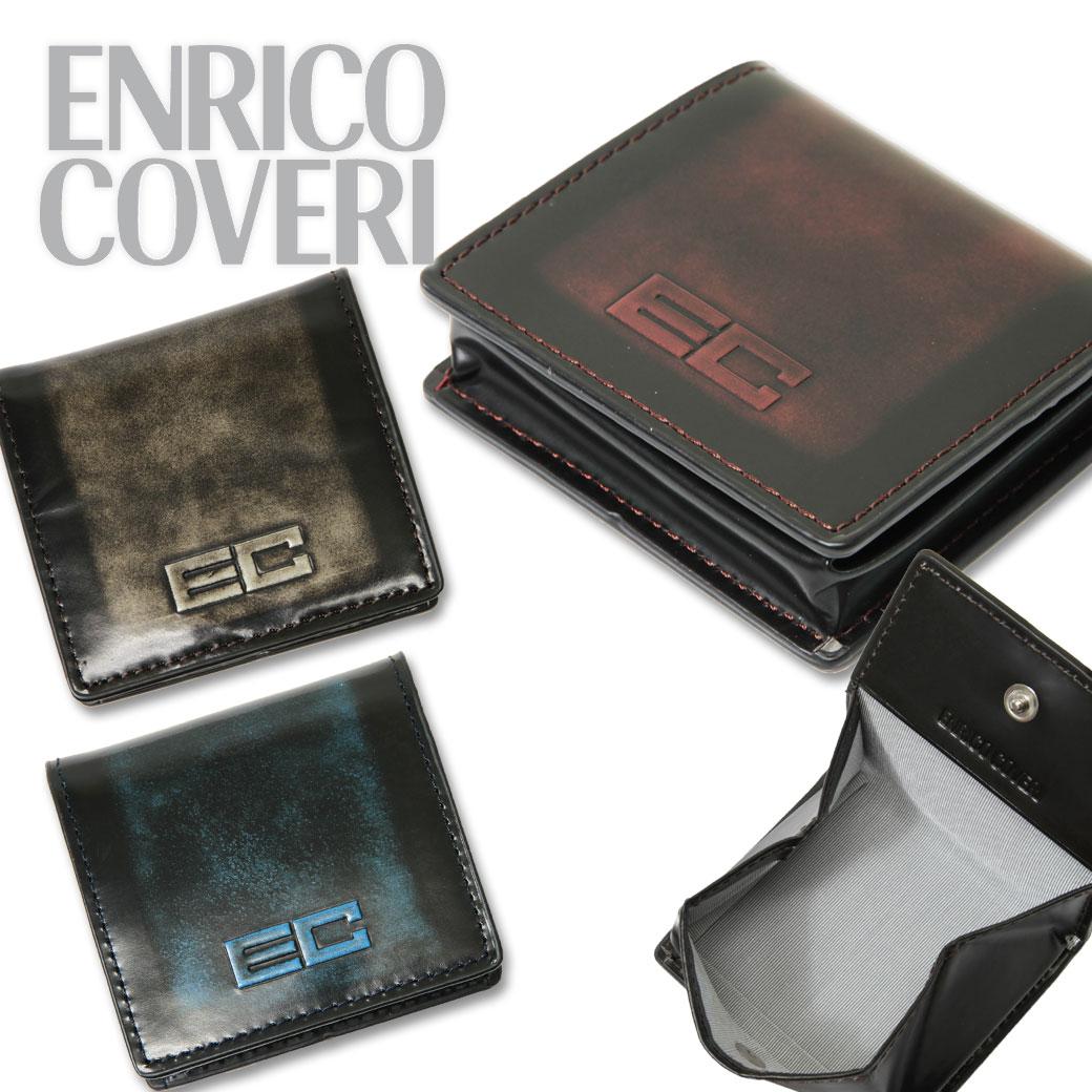 【全商品クーポン配布中】コインケース メンズ ENRICO COVERI エンリコ・コベリ ADVAN アドヴァン 財布 本革 牛革 BOX型小銭入れ ブランド プレゼント ランキング ギフト
