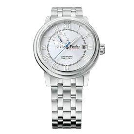 腕時計 自動巻き メンズ KENTEX ケンテックス CONFIDENCE コンフィデンス カレンダー ステンレススチール 牛革 カジュアル メンズウォッチ メンズ腕時計 ブランド プレゼント ランキング ギフト 送料無料 men's