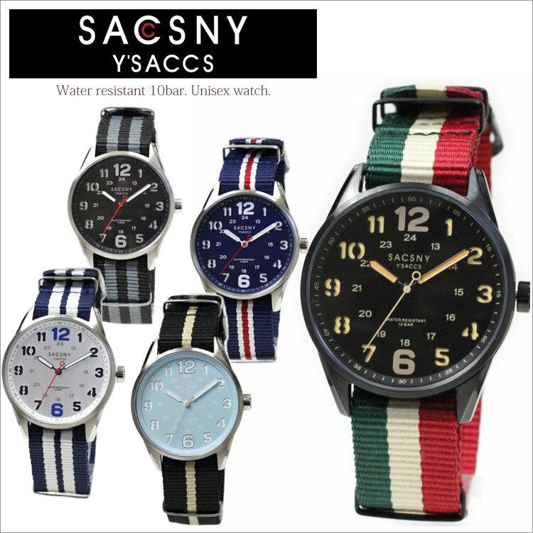 腕時計 SAY-15093 サクスニーイザック SACSNY Y'SACCS メンズ レディース 男女兼用 10気圧防水 時計 オシャレ シンプル ミリタリー ヴィンテージ 通販 ブランド プレゼント