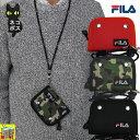 【折り財布】FILA(フィラ) ネックストラップ付2つ折り財布 FL-112【楽天】【あす楽対応】