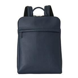 [TRION SA226 NAVY]リュックサック ビジネスバッグ バックパック A4サイズ対応 トライオン ネイビー DOCUMENT ドキュメントケース グローブレザー 革 本革 ブランド メンズ 送料無料