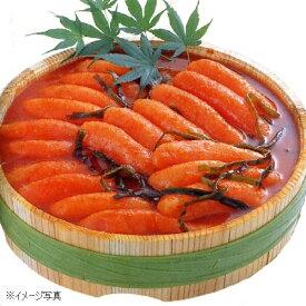 かば田の昆布漬辛子めんたい『雷』 木樽詰