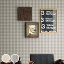 【 壁紙 のり付き 】 壁紙 のりつき クロス ナチュラル チェック 防かび サンゲツ FE-1395〜1396